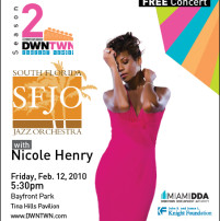 Free jazz concert with Nicole Henry