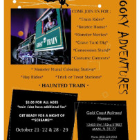 Spooky Adventures at railroad museum