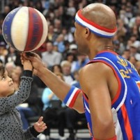 Harlem Globetrotters kids' basketball clinic discount