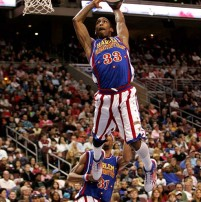 Win 4 tickets to Harlem Globetrotters