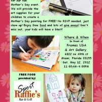 Free kids' art event