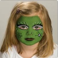 girl face painting