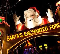 Family 4-pack giveaway for Santa's Enchanted Forest