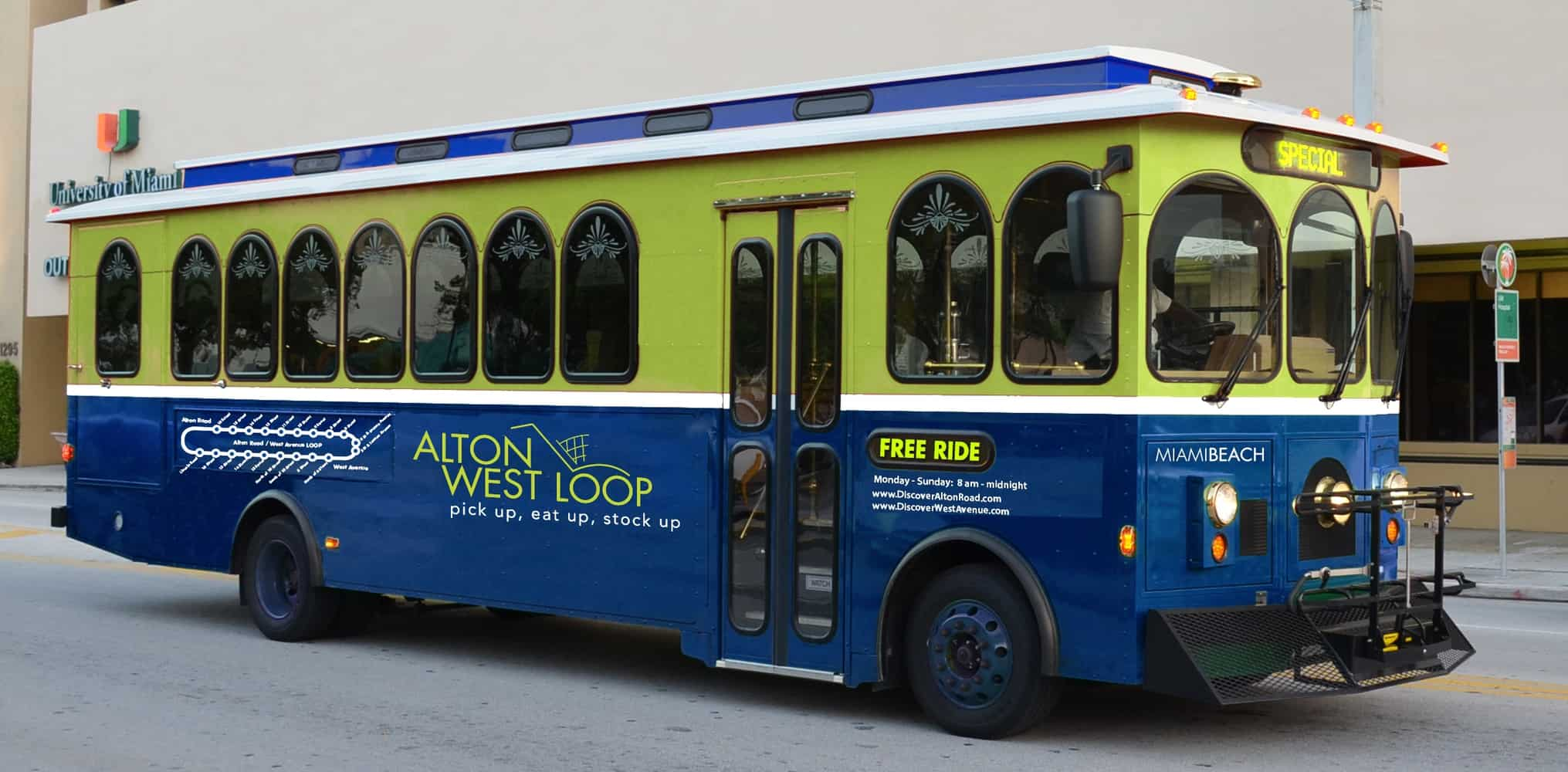 Free trolley service in South Beach - Miami on the Cheap