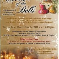 Free 'Carols of the Bells' concert