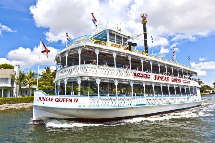 Cruise With Jungle Queen Riverboat