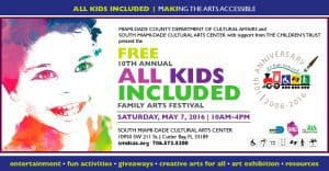 all kids miamidade art festival