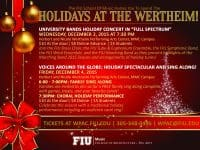 Holiday concerts at FIU