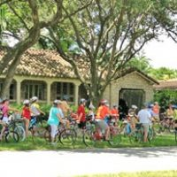 Bike tour through Coral Gables