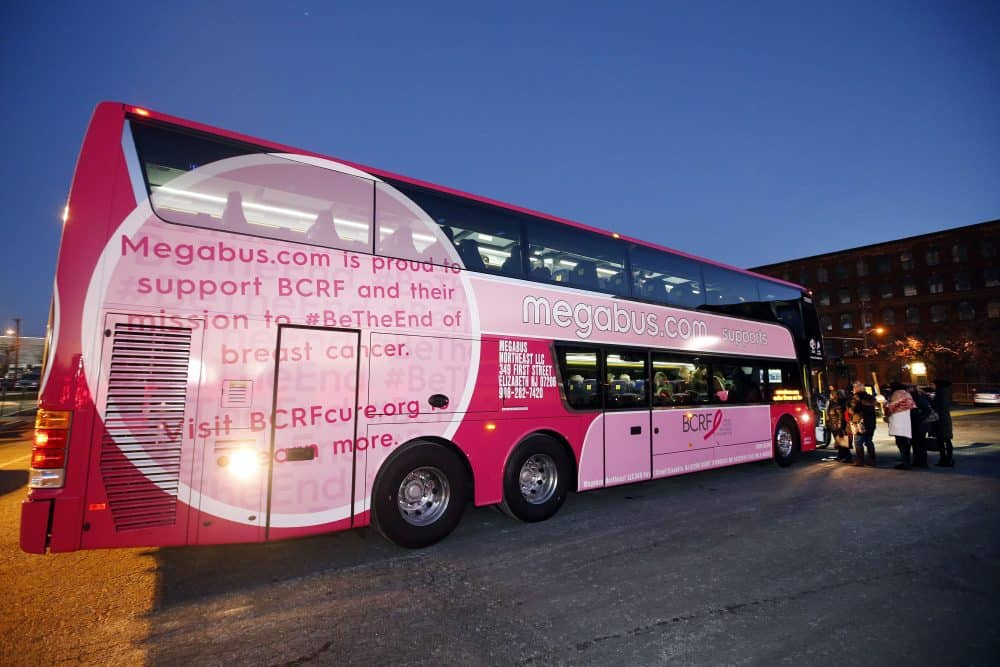 Megabus joins fight against breast cancer - Miami on the Cheap