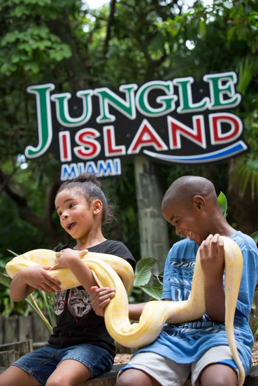 10 Discount On Jungle Island One Day Pass In November
