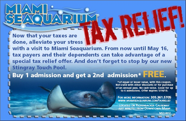 Florida aquarium coupons discount tickets
