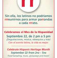 WD - Hispanic Heritage Month 2012 Event Flyer