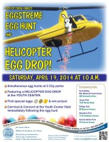 Coral Gables Eggstreme Egg Hunt & helicopter egg drop
