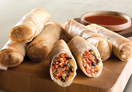 pei wei vegetable spring rolls