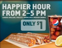 Taco Bell serves $1 Loaded Grillers anytime