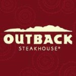 $4 off lunch for 2 at Outback