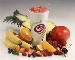 Jamba Juice: $2 Fruit & Veggie or Juice Blend