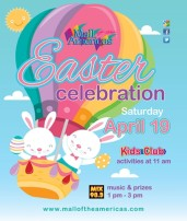Mall of the Americas Easter Celebration