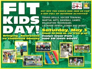 Fit Kids Day flyer
